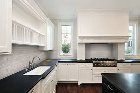 bliss elements 2 x 6 glass tile mist traditional kitchen