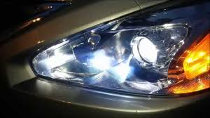 led headlight conversion on 2013 to 2015 nissan altima how to