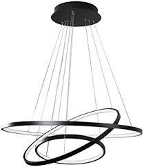 pendelleuchte led dimmbar esszimmer hängeleuchte wohnzimmer kronleuchter esstisch büro wohnung rund höhenverstellbar modern design mit