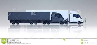 100 Semi Truck Trailers Big Lorry Charging At Electic Charger