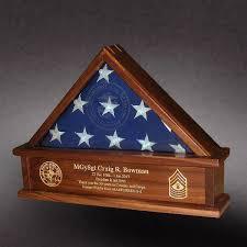 3x5 Flag Box For Marine Reserves Retirement