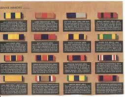Military Awards And Decorations Records by Military Decorations And Awards Chart Collectors Weekly