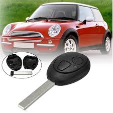 2 Buttons Car Remote Key Case Fob Shell For BMWMG Mini R50 R53