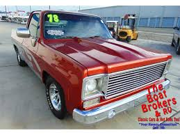 100 1978 Chevy Truck For Sale Chevy C10 PICK UP For ClassicCarscom CC1182431