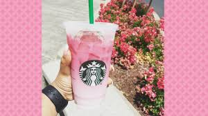 Starbucks Pink Ombre Drink Is Now On The Official Menu