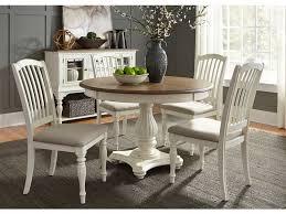 Liberty Furniture 5 Piece Pedestal Table Set 334 CD 5PDS
