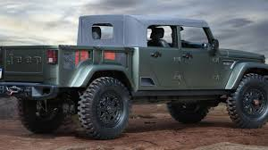100 Four Door Truck Jeep Confirms It Will Make A Pickup