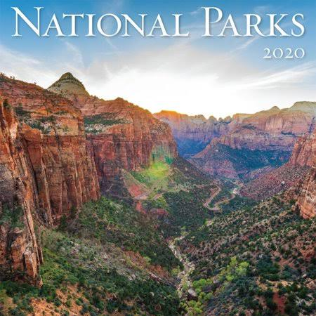 Turner Licensing National Parks 2020 Mini Wall Calendar