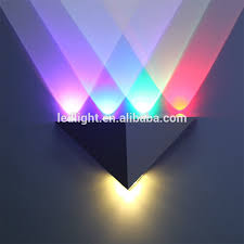 acrylic shade wall mount led square lights inside wall mount led l