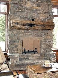 Fireplace Rock Stone Age Fireplace Stone Fireplace Painting Ideas