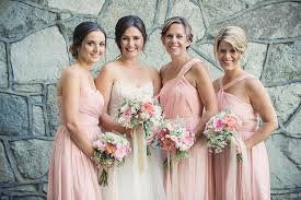 Blush Bridesmaids From JCrew