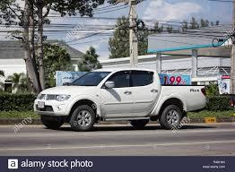 100 Mitsubishi Pickup Truck Chiangmai Thailand November 15 2018 Private Car