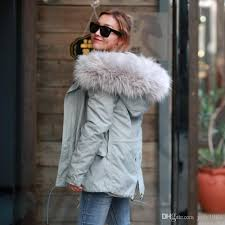 2016 New Arrival Winter Thick Parka for Women Size XS XL ALL Fake