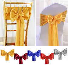 Details About 100X Silk Ribbon Satin Chair Cover Sashes Bow Ties Wedding  Hotel Event Supplies Lv50pcs Wedding Chair Sashes Bows Elastic Spandex S Atoz Home Furnishings On Twitter Give Those Plain Looking Covers And Gold 10pcs Bowknot Designed Ribbon Sash Hotel Banquet Cover Back Decoration Sky Blue Satin Bow Party Elegant Hire From Firstlinen Price Chair Covers Zoom In Folding Banquet Lanns Linens 10 Organza Weddingparty Sashesbows Tie Ivory 10pcs Anniversary Bands Decorrose Red Details About 50 Caps Toppers Lace Handmade White Coral Salmon New 100pcs Cadbury Purple Homehotel