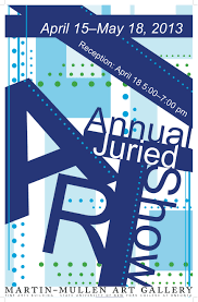Annual Juried Student Art Show Poster