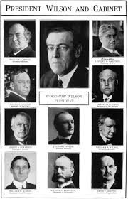 woodrow wilson cabinet members file nsrw wilson woodrow wilson and cabinet jpg wikimedia commons