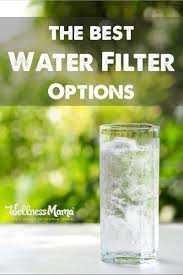 Brita Water Filter Faucet Attachment by Best Water Filter Options For Home Use Wellness Mama