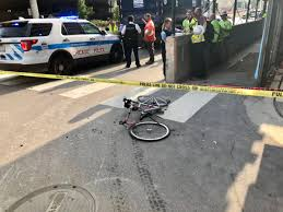 Right-Turning Dump Truck Driver Fatally Struck Female Cyclist, 39 ...