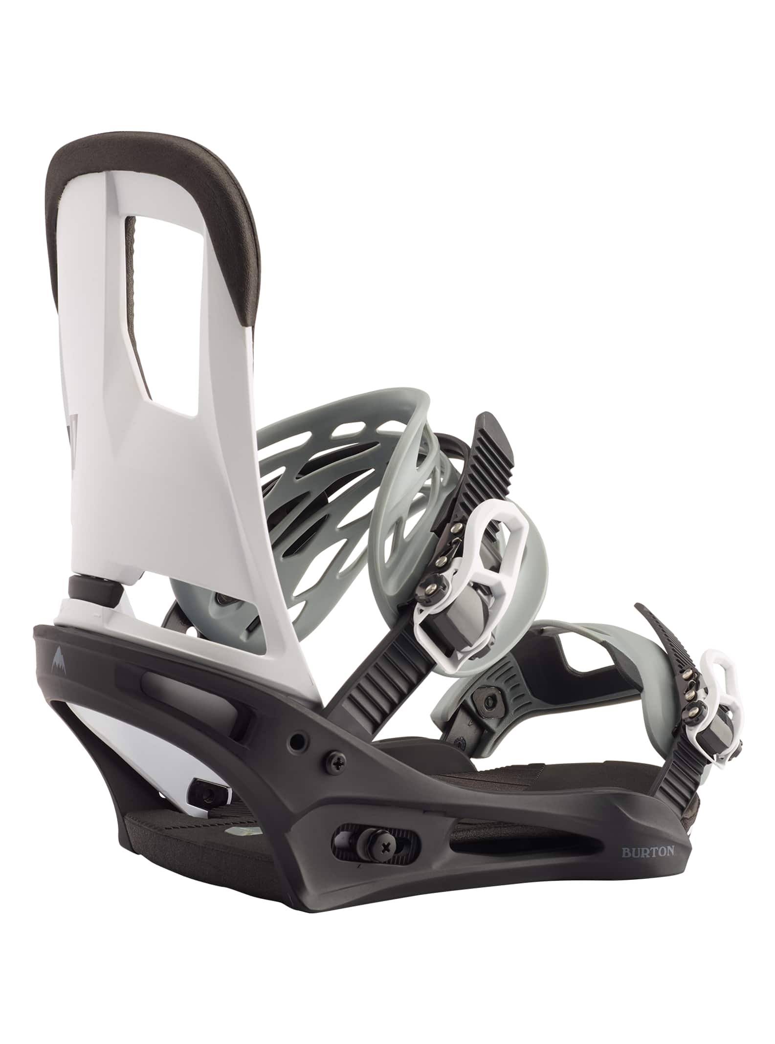 Burton Cartel 2020 Snowboard Bindings - Black/White