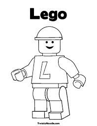 16 Coloring Pages Legos