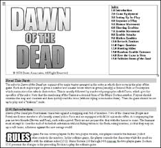 Excellent Print Play Dawn Of The Dead Boardgame Witchmaster Creations Wedding Ideas Alliswelus