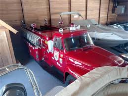 100 Ford Fire Truck 1953 For Sale ClassicCarscom CC1117373