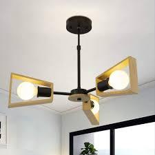 zmh deckenleuchte holz rustikal wohnzimmerle e27 deckenle höhenverstellbare deckenbeleuchtung für wohnzimmer schlafzimmer kinderzimmer