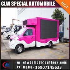100 Truck Advertising China LED Outdoor Advertisement Van Mobile LED