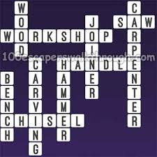 one clue crossword wood workshop answers 94 game answers for