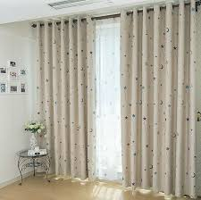 Cute Nursery Blackout And Thermal star curtains