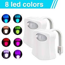 batteriebetrieben led toilettenlicht 8 farben wechselnde wc