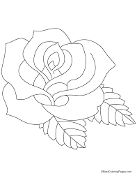 Great Rose Coloring Pages 45 In Books With