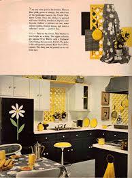 Yellow And Black Kitchen Decor Design Ideas Homes