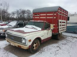 100 Cattle Truck For Sale 72 C10 C30 ONE TON CATTLE LIVESTOCK TRUCK RAT ROD HOT ROD FARM TRUCK