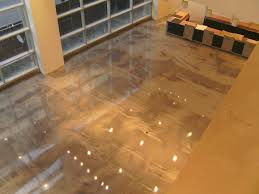 Ruiz Says The Floors Marbled Look Which Installers Achieved By Mixing BDC Decorative Concrete Supplys