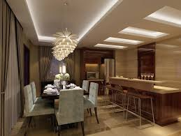 Ceiling Lighting And Open Space
