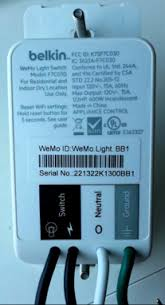 User Added Image The Wemo Light Switch