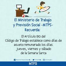 MTPS Atenderá En Horario Especial Durante Período Vacacional