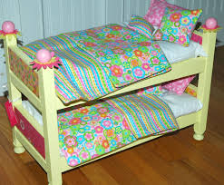Badger Basket Doll Bed by Bunk Beds How To Make A 18 Inch Doll Bed American Bunk Bed