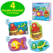 Amazon Com 4 Piece Baby by Amazon Com The Learning Journey My First Puzzle Sets 4 In A Box
