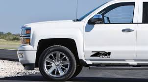 100 Chevy Decals For Trucks Car Styling For 2 X CHEVY Z71 4X4 CHEVROLET Graphics Vinyl Body