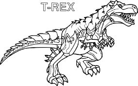 Coloriage Imprimer Dinosaure Tyrex From Coloriage T Rex Gratuit