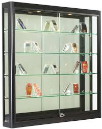 Wall Mount Display Cases Glass Acrylic Mounted Showcases Intended For Measurements 953 X 1200