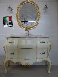 angebot klassischen retro stil badezimmerschrank mit rosa marmorplatte zum verkauf