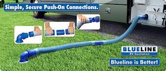 Blueline RV Sanitation Sewer Hoses Fittings