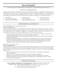 Samples Of Resumes For Administrative Positions Office Work Resume