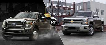2015 Ford Super Duty F-250 Vs 2015 Chevy Silverado 2500HD