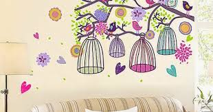 sweet nest melodyhome 10 wall decals to light up your wall