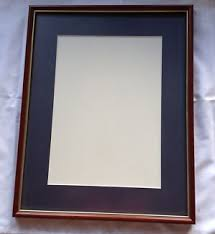 Wooden Doc Pic Frame Matt Non Reflective Glass Wall Mounted