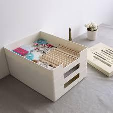 organisateur de tiroir bureau en plastique bureau empilable fichier dossier boîte de rangement